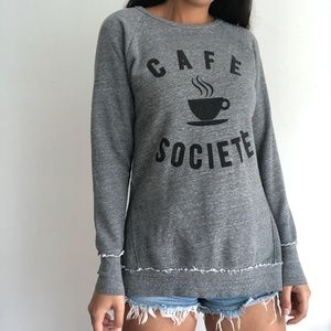 Anthropologie Sol Angeles cafe societe sweater
